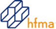 HFMA, a non-profit membership organization for healthcare financial management executives, logo